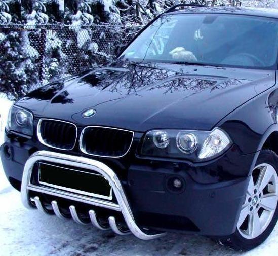 BMW : BMW X3 E83 04-06 Frontschutzbügel