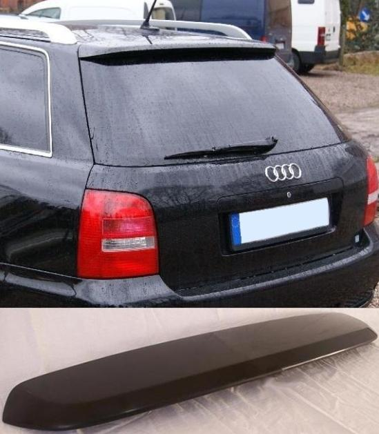 audi a4 b5 estate rear roof spoiler tuning gt ebay. Black Bedroom Furniture Sets. Home Design Ideas