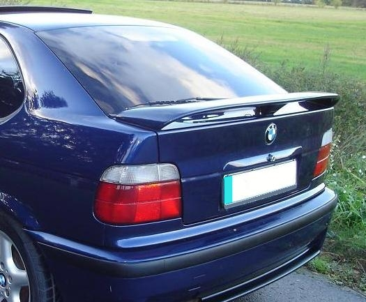 bmw e36 compact rear boot spoiler tuning gt ebay. Black Bedroom Furniture Sets. Home Design Ideas