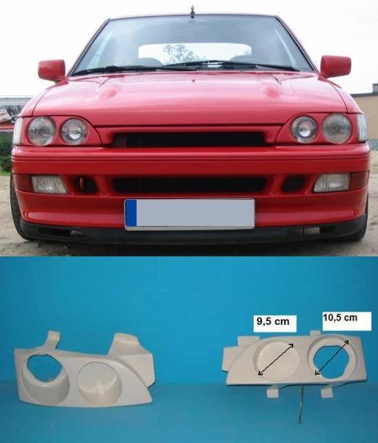 Escort ford light mk5 rear