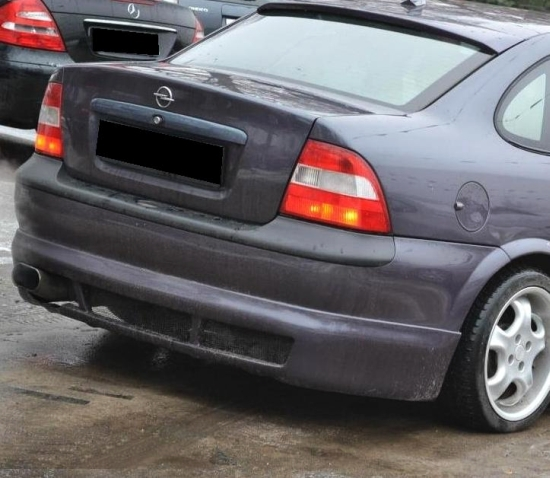 vauxhall opel vectra b rear bumper spoiler tuning gt. Black Bedroom Furniture Sets. Home Design Ideas