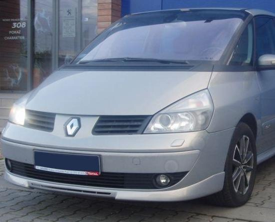 renault espace 4 front bumper spoiler tuning gt ebay. Black Bedroom Furniture Sets. Home Design Ideas