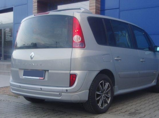 renault espace 4 rear bumper spoiler tuning gt ebay. Black Bedroom Furniture Sets. Home Design Ideas