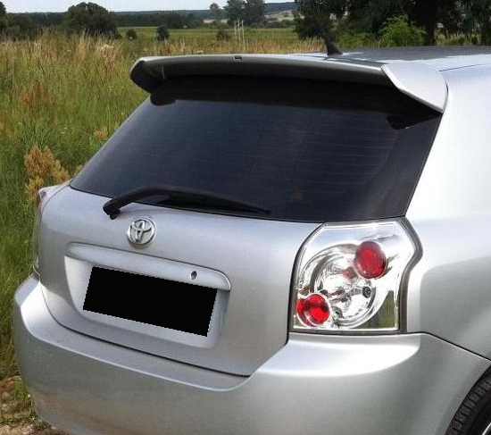toyota corolla e12 rear roof spoiler tuning gt. Black Bedroom Furniture Sets. Home Design Ideas