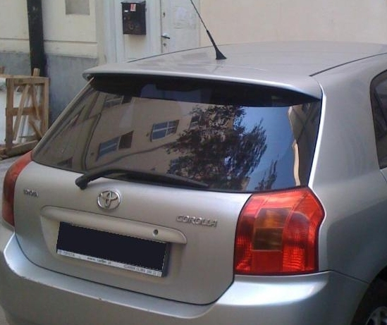 toyota corolla e12 rear roof spoiler tuning gt ebay. Black Bedroom Furniture Sets. Home Design Ideas