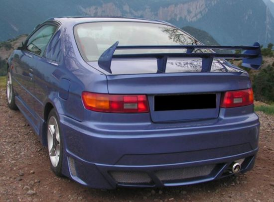 toyota paseo rear boot spoiler tuning gt ebay. Black Bedroom Furniture Sets. Home Design Ideas