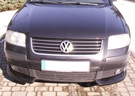 vw passat b5 3bg front bumper spoiler bumper corners. Black Bedroom Furniture Sets. Home Design Ideas