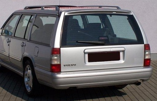 volvo 940 960 740 estate rear roof spoiler tuning gt ebay. Black Bedroom Furniture Sets. Home Design Ideas