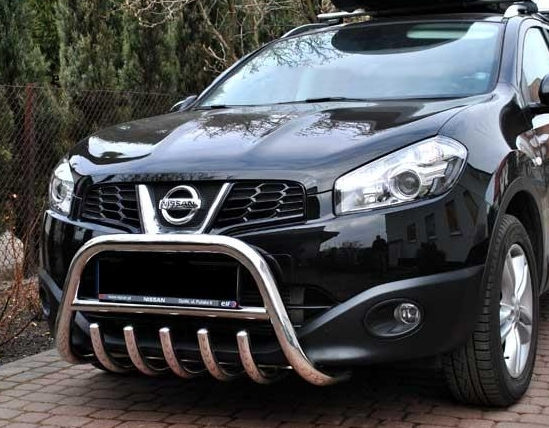nissan qashqai bull bar nudge a bar tuning gt. Black Bedroom Furniture Sets. Home Design Ideas