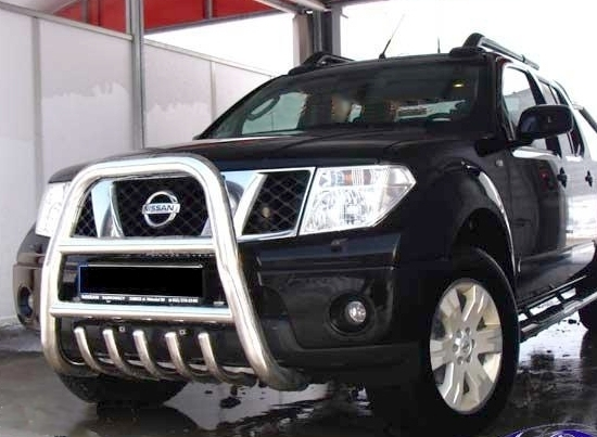Nissan Navara D40 Bull Bar Nudge A Bar Tuning Gt Ebay